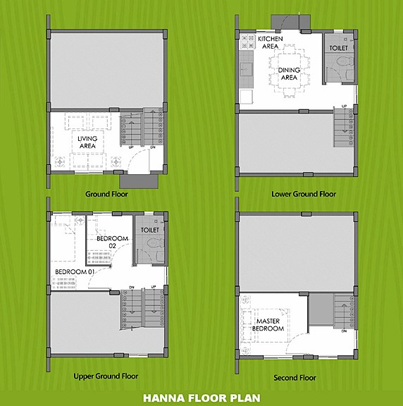 Hanna Floor Plan House and Lot in Sorsogon