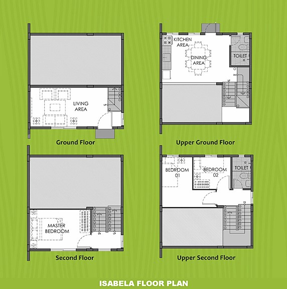 Isabela Floor Plan House and Lot in Sorsogon
