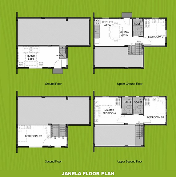 Janela Floor Plan House and Lot in Sorsogon