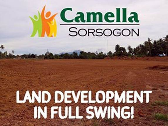 News regarding Camella Sorsogon.